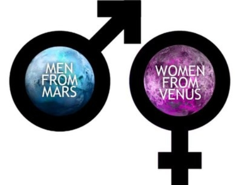 September 9th, 2018: Men From Mars Women From Venus-Week 3
